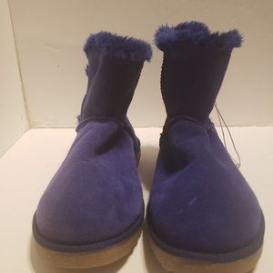 Circo Boots Suede Purple Girls Size 4